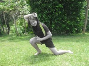 Cristen Kramer has been learning Derobio since 4 years old
